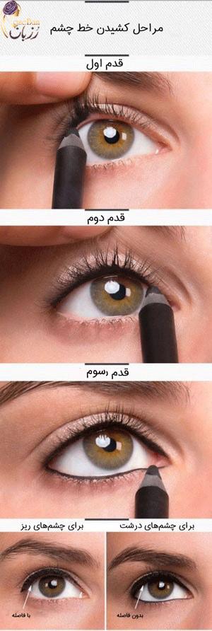آموزش-خط-چشم