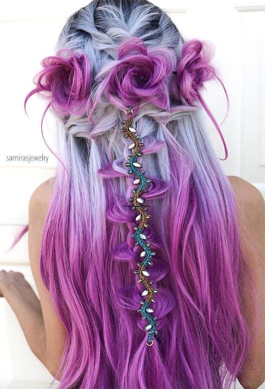 half up half down hairstyles ideas10