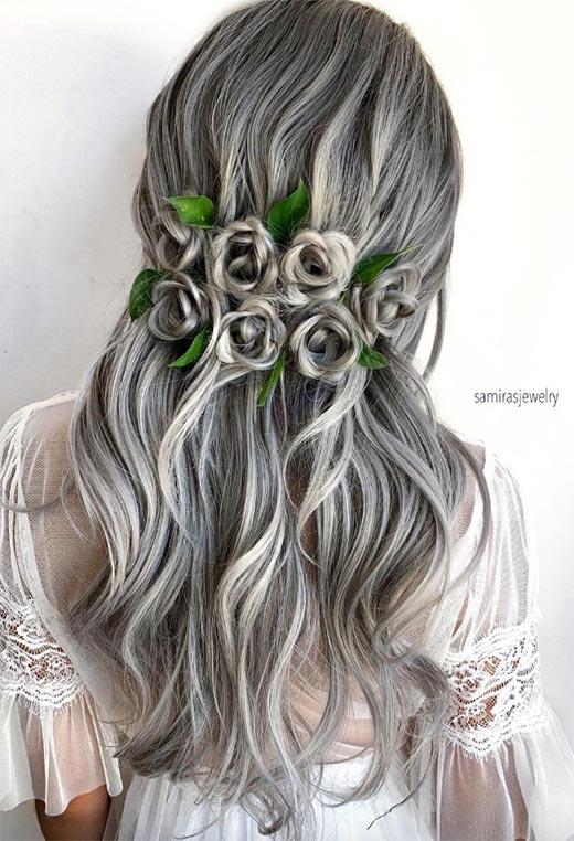 half up half down hairstyles ideas12