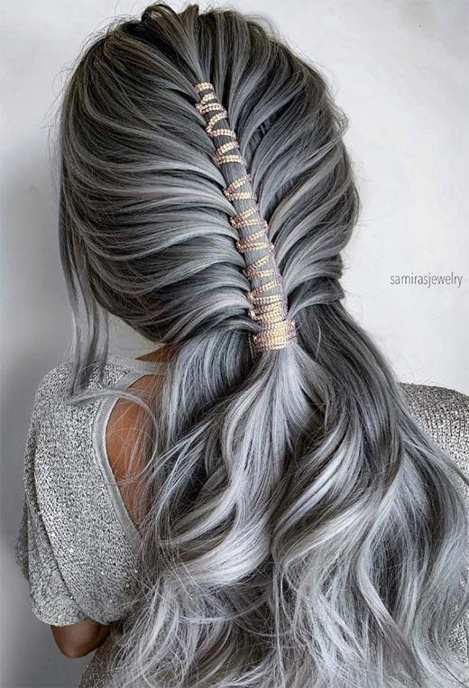 half up half down hairstyles ideas15