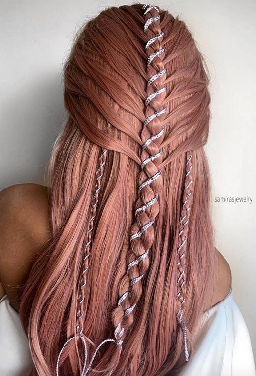 half up half down hairstyles ideas20