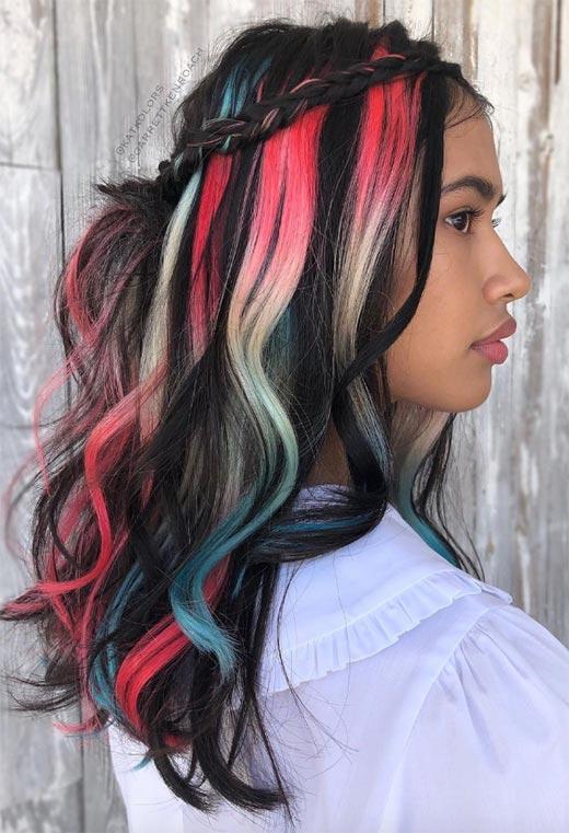 half up half down hairstyles ideas21
