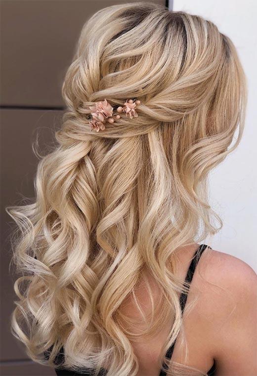 half up half down hairstyles ideas9